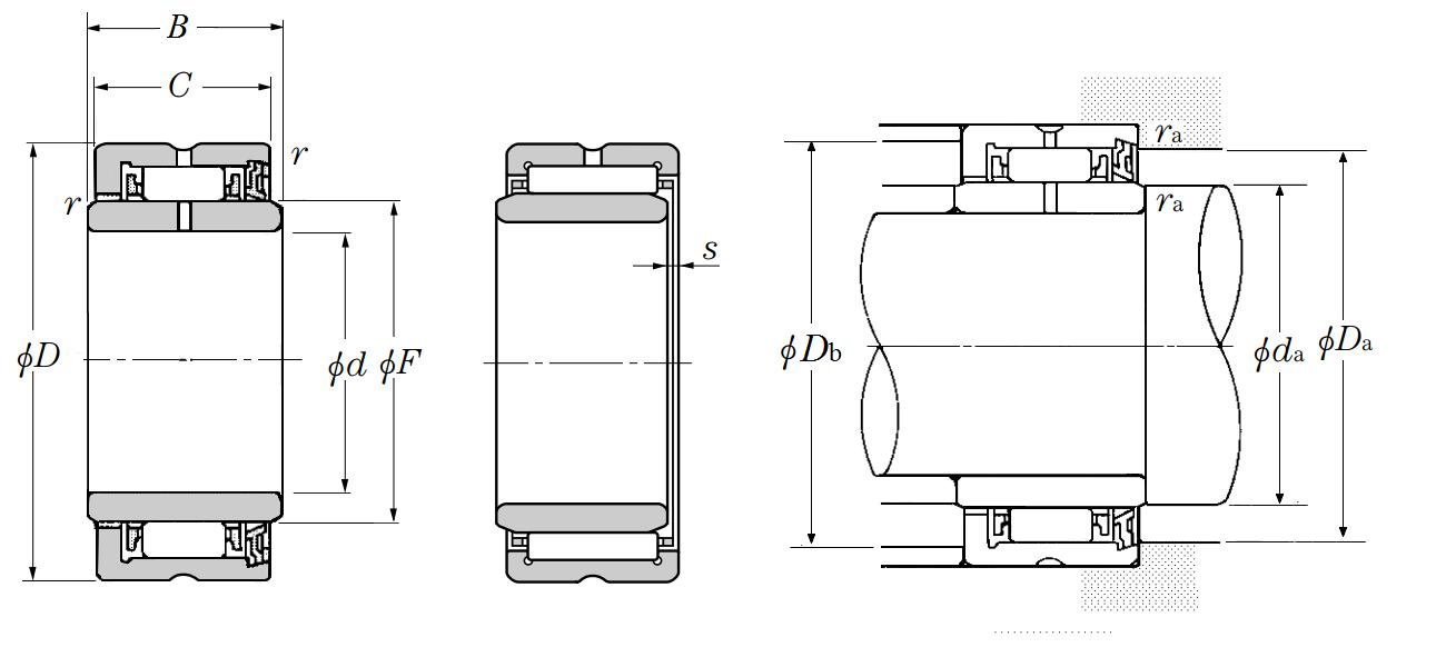 ntn single row radial ball bearings 8000 series pdf
