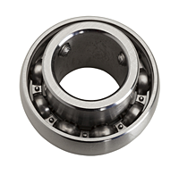 Stainless Steel Bearing Insert w/ Set Screw - SUC/MUC
