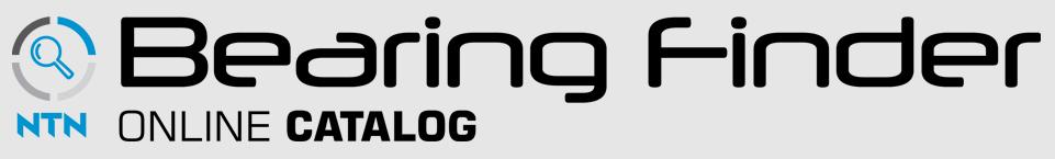 NTN Bearing Finder: Online Catalog and Interchange