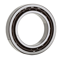 Single Angular Contact Ball Bearing, High Precision