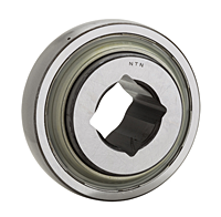 Farm Implement Square Bore Bearings - Spherical O.D.