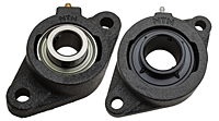 Ultra-Class Two Bolt Flanged Unit with Set Screw
