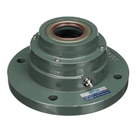Sealed Spherical Flange Blocks, Ductile End Cover, Open End, SFCW Type - 2