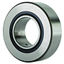 Roller Follower Yoke Type Track Roller Bearing w/ Inner Ring, Double Sealed, NA22 Type, Cylindrical O.D.