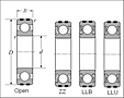 Expansion Compensating Bearings - Dimensions