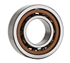 Single Angular Contact Ball Bearings for Motors and Lathes