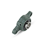 Two Bolt Rhombus Flanged Unit, Ductile Cast Housing, Set Screw, UCFE Type - 2