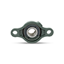 Two Bolt Rhombus Flanged Unit, Ductile Cast Housing, Set Screw, UCFE Type - 3