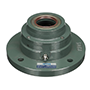 Sealed Spherical Flange Blocks, Ductile End Cover, Open End, SFCW Type